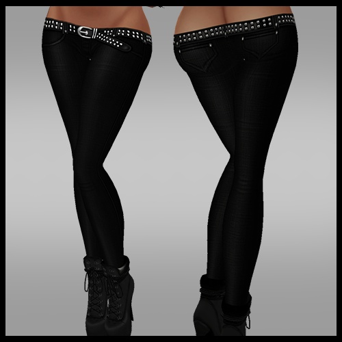 Black Jeans Slim