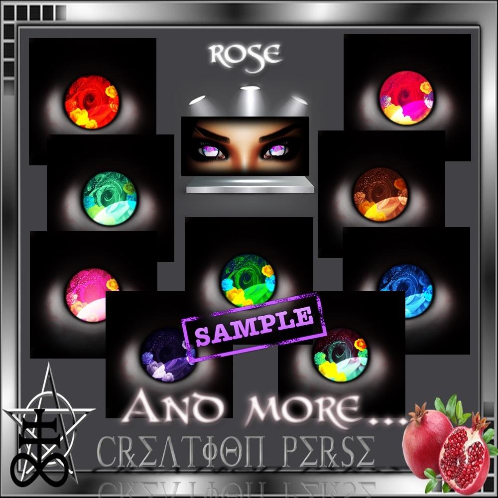 35 Textures eyes rose