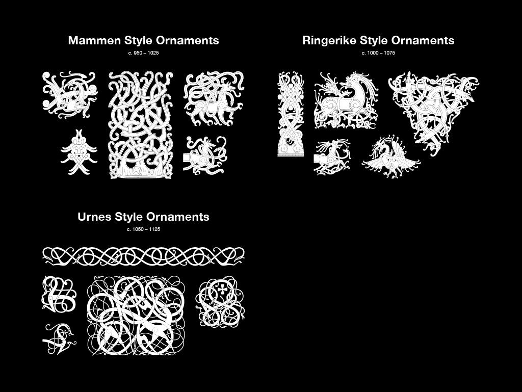 Viking Ornaments – Personal use