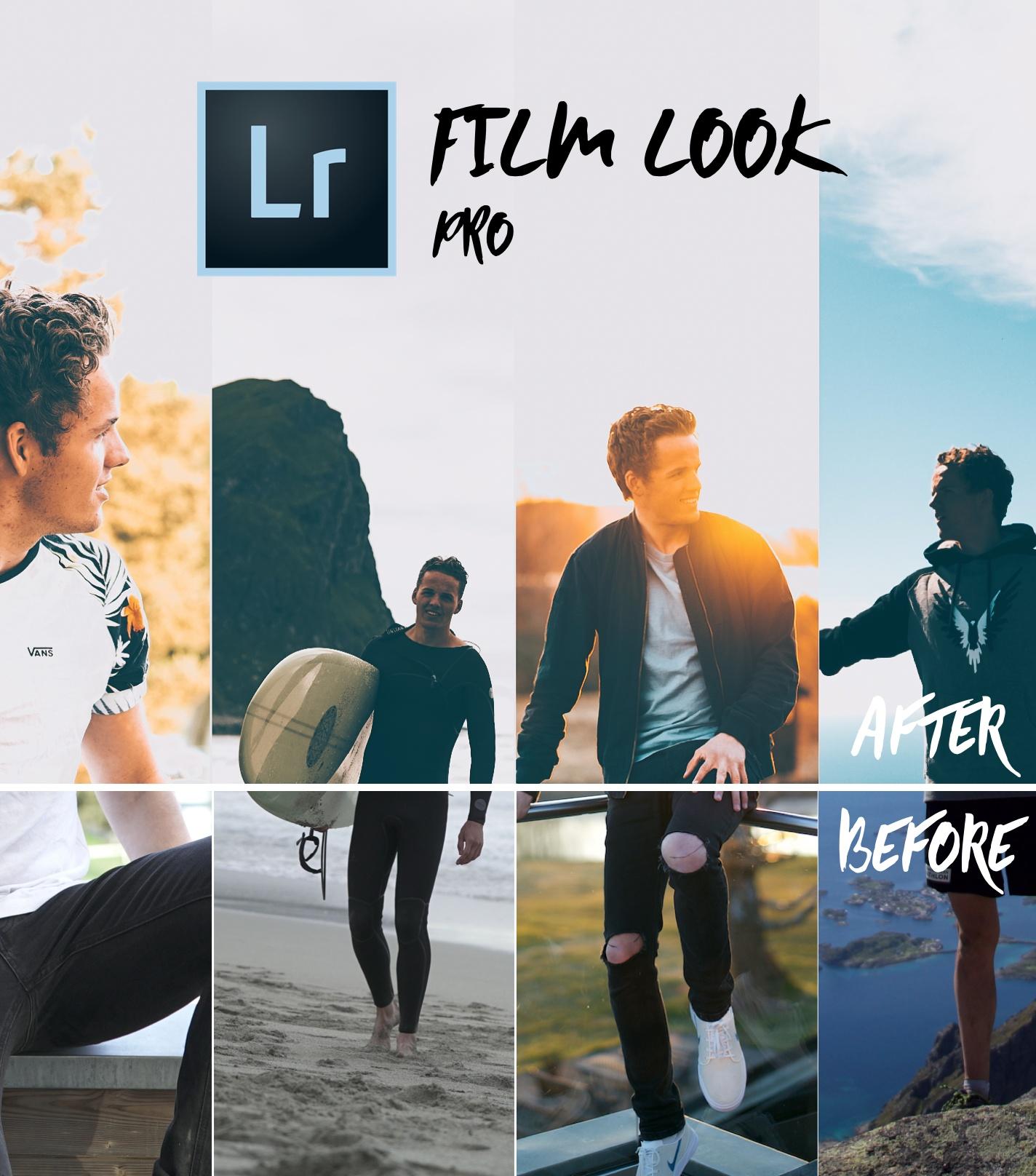 FILM LOOK PRO - 20 Lightroom Smart Presets // INSTANTLY UP YOUR INSTAGRAM GAME