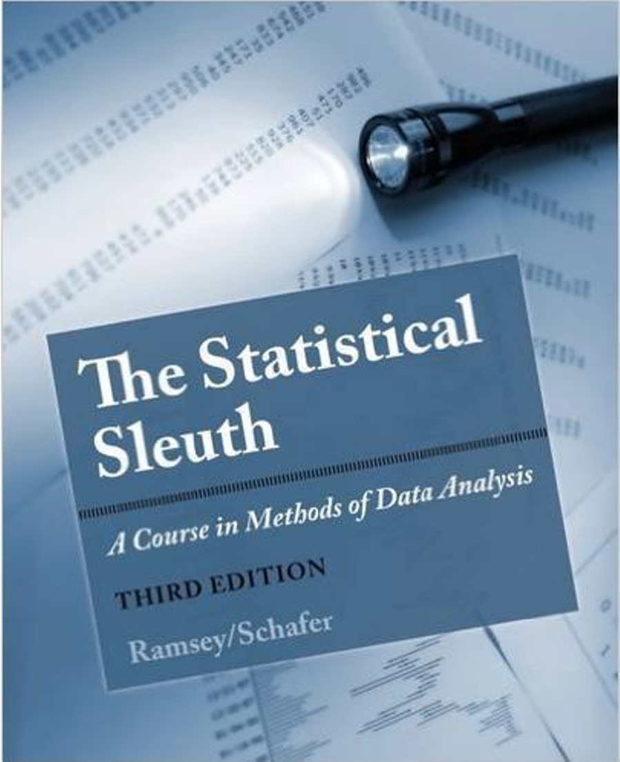The Statistical Sleuth A Course in Methods of Data Analysis 3rd Edition ( PDF , Instant download )
