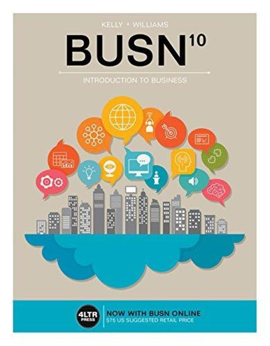 BUSN10 ,  Introduction to Business 10th edition  ( PDF , Instant download )