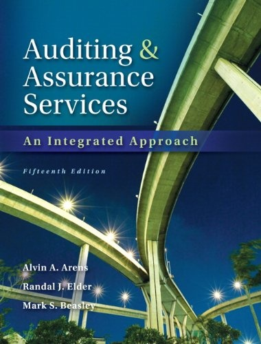 Auditing and Assurance Services 15th Edition ( PDF , Instant download )