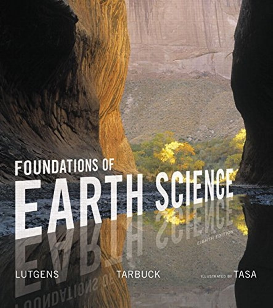 Foundations of Earth Science 8th edition ( PDF , Instant download )