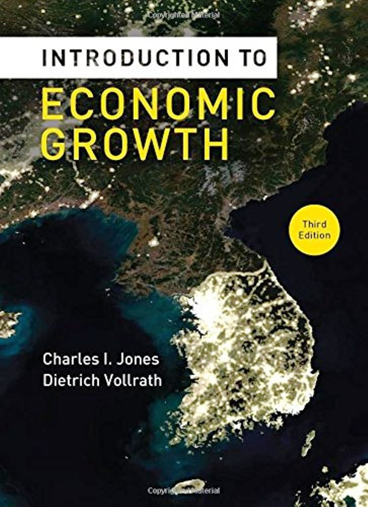 Introduction to Economic Growth 3rd edition ( PDF , eBookInstant download )