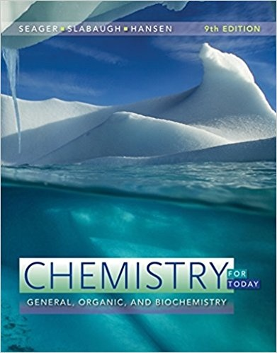 Chemistry for TodaY , General, Organic, and Biochemistry, 9th Edition ( PDF , Instant download )