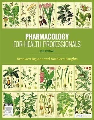 Pharmacology for Health Professionals 4th Edition ( Instant download )
