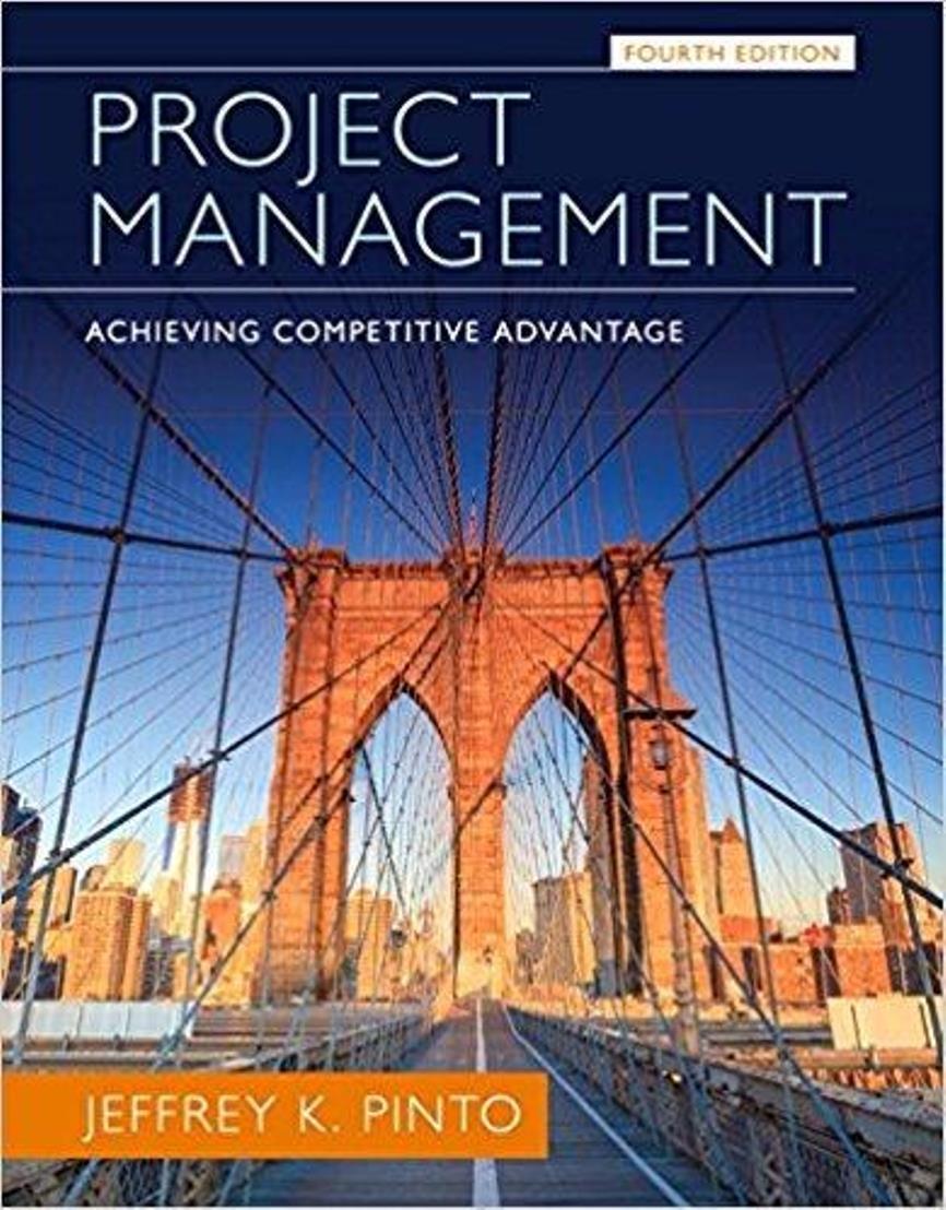 Project Management ,  Achieving Competitive Advantage 4th Edition ( PDF , Instant download )