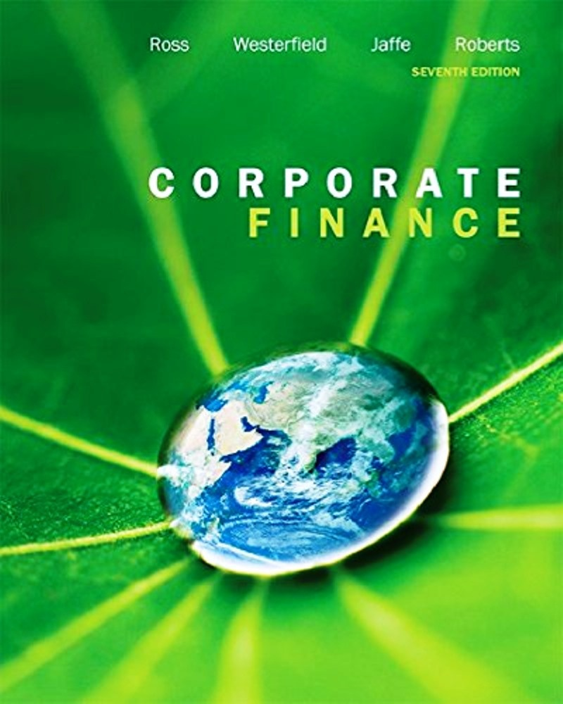 Corporate Finance 7th edition  ( PDF , Instant download )