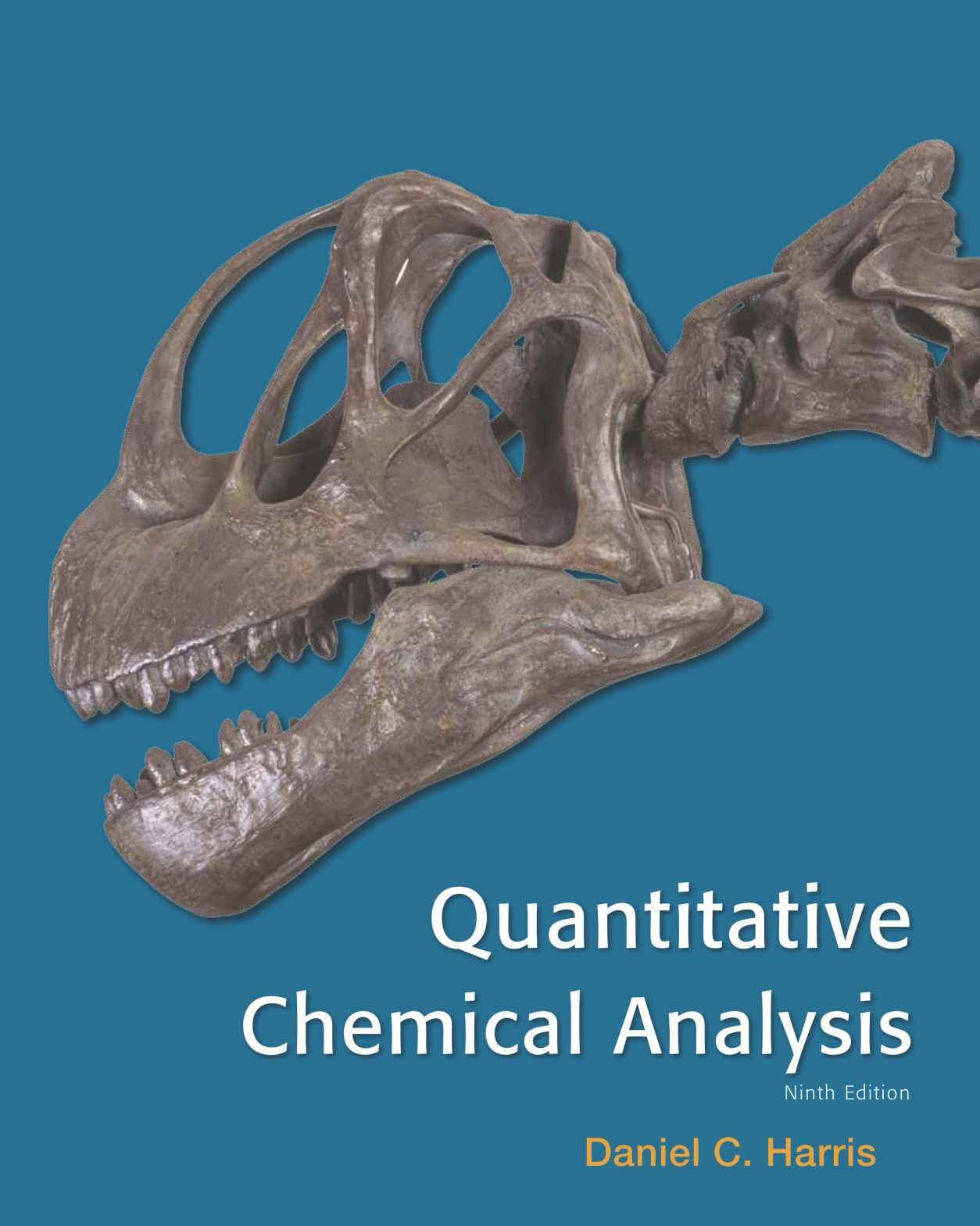 Quantitative Chemical Analysis 9th Edition ( PDF , Instant download )