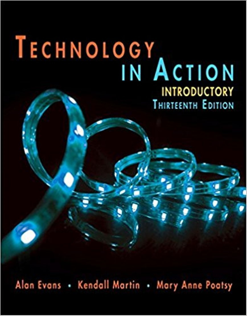 Technology in Action 13th eition ( PDF , Instant download )