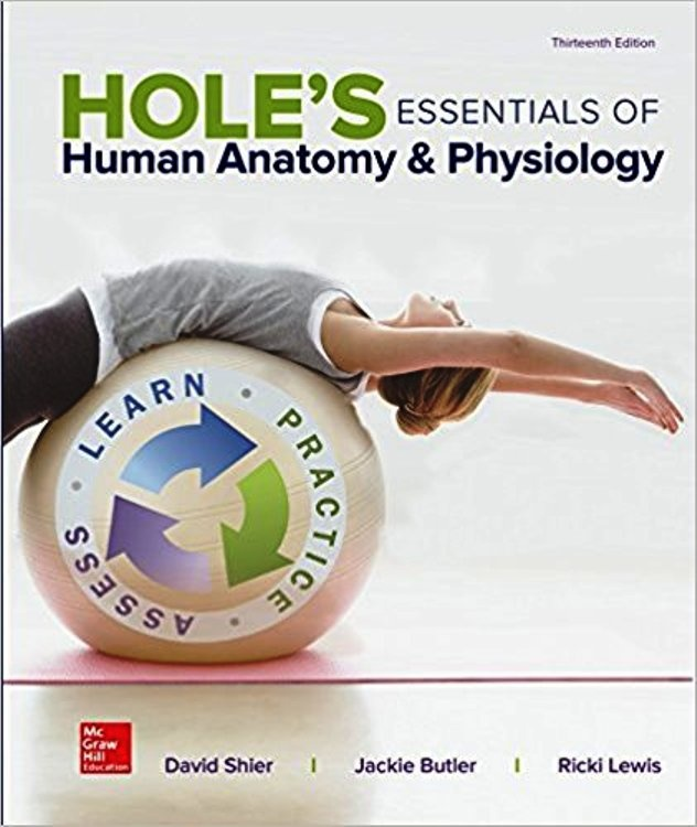 Hole's Essentials of Human Anatomy & Physiology 13th Edition ( PDF , instant download )