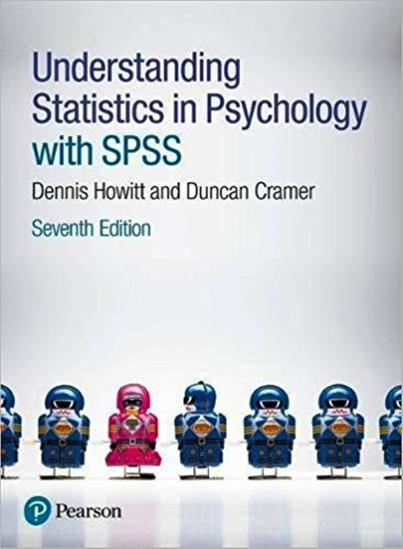 Understanding statistics in psychology with SPSS 7th edition ( PDF , Instant download )
