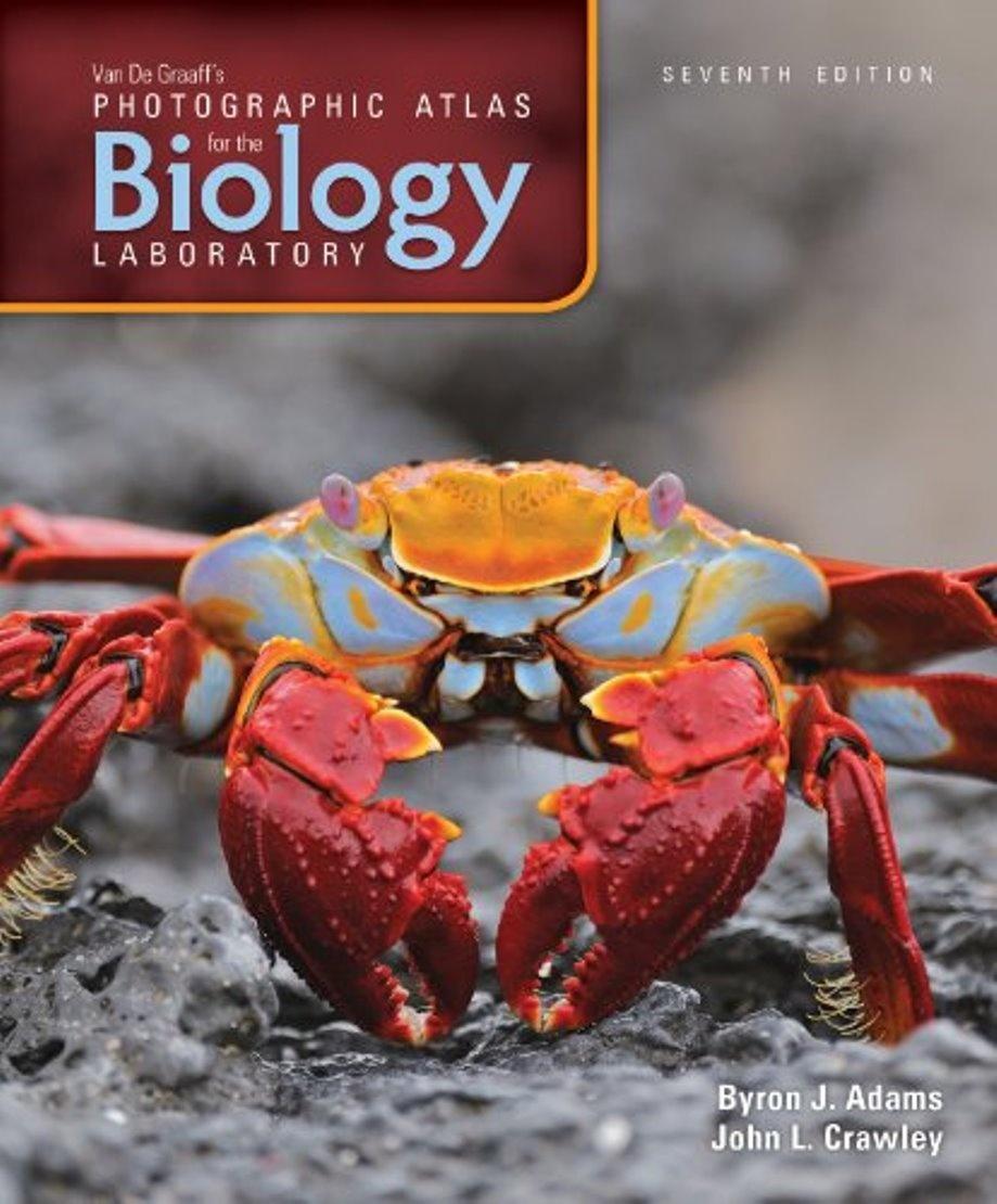 Van De Graaff's Photographic Atlas for the Biology Laboratory 7th edition ( PDF , Instant download )