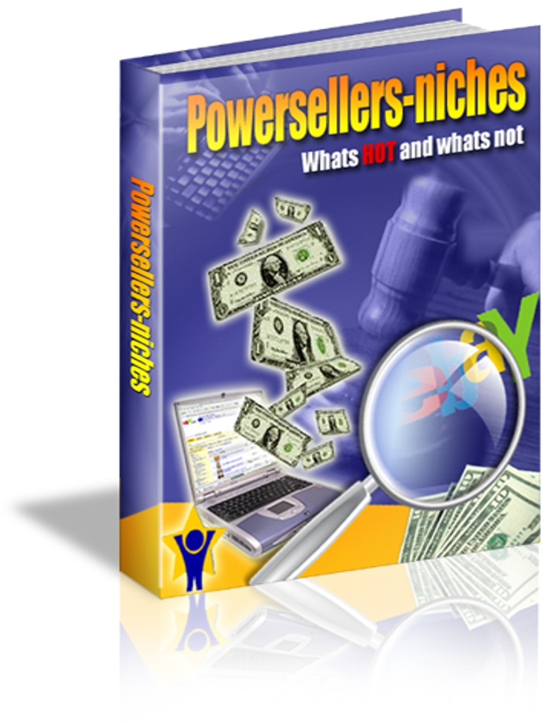 eBay Power Seller Niche PDF eBook Including Master Resell Rights