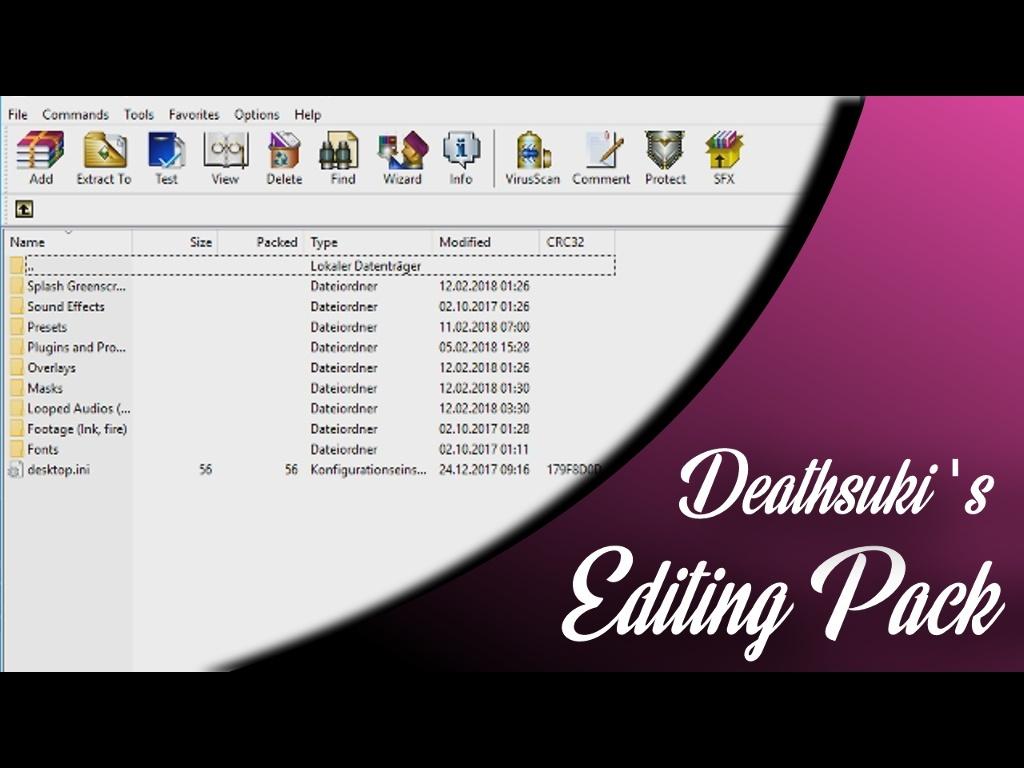 Deathsuki Editing Pack