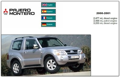 Mitsubishi Pajero Montero 2000  Service Manual