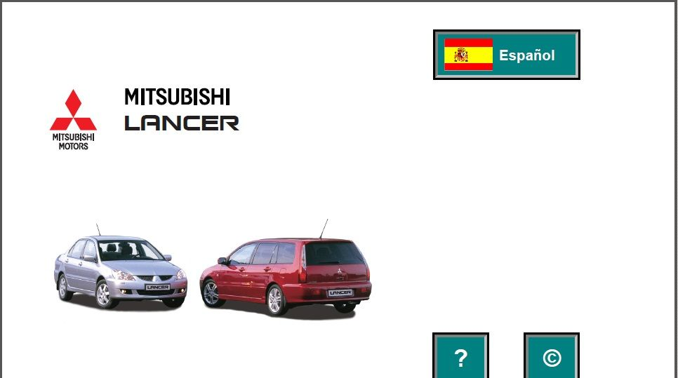 Mitsubishi Lancer 2005 Spanish