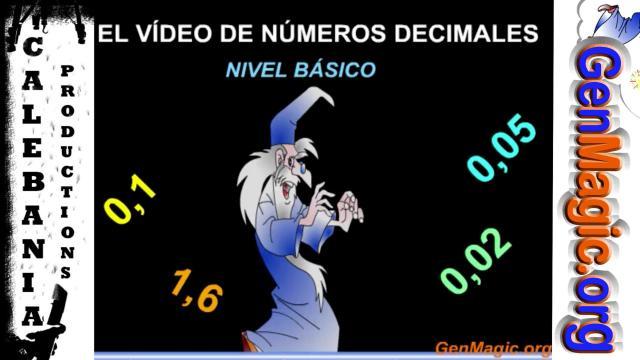 El vídeo de los números decimales