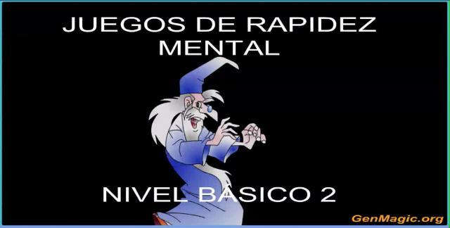 Juegos de rapidez mental