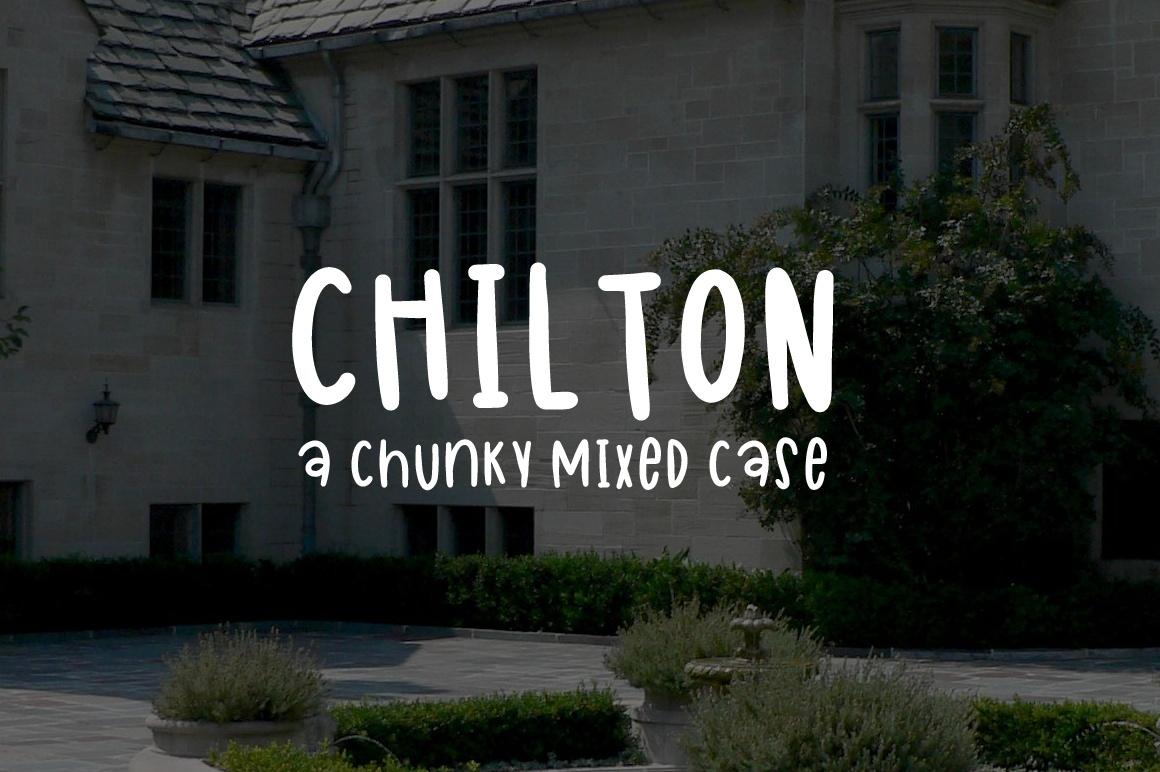 Chilton - A PWYW  Chunky Print