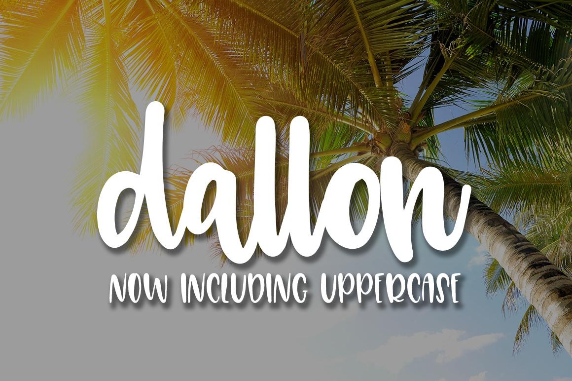 Dallon - A Script Font