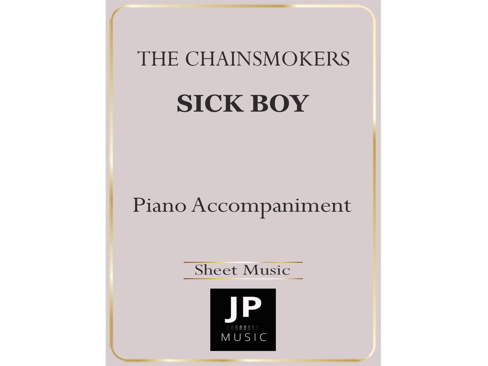 Sick Boy - Piano Accompaniment