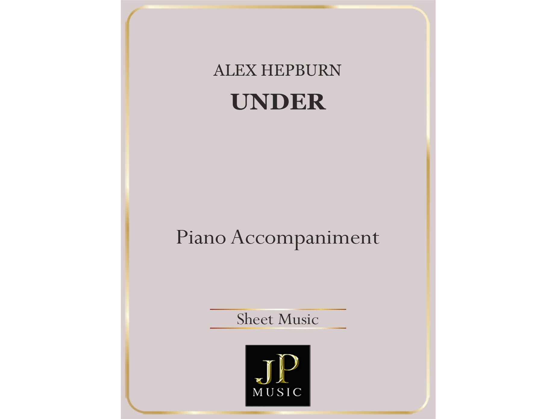 Under - Piano Accompaniment