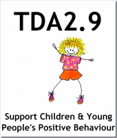 tda 2 9 support children and young people positive behaviour ref 1 2 Unit ref no title unit type level credit y/601/6573 support children and young people's travel outside of the setting knowledge/ skills 2 3 m/601/6577 support extra-curricular activities skills 2 3.