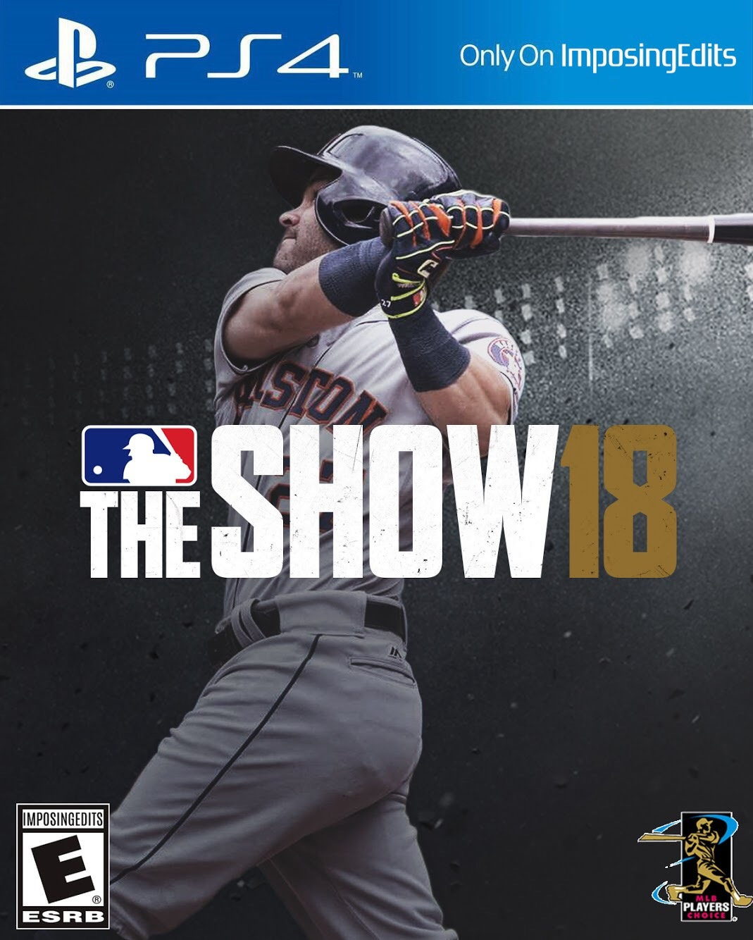 MLB The Show 18 Template (PSD)