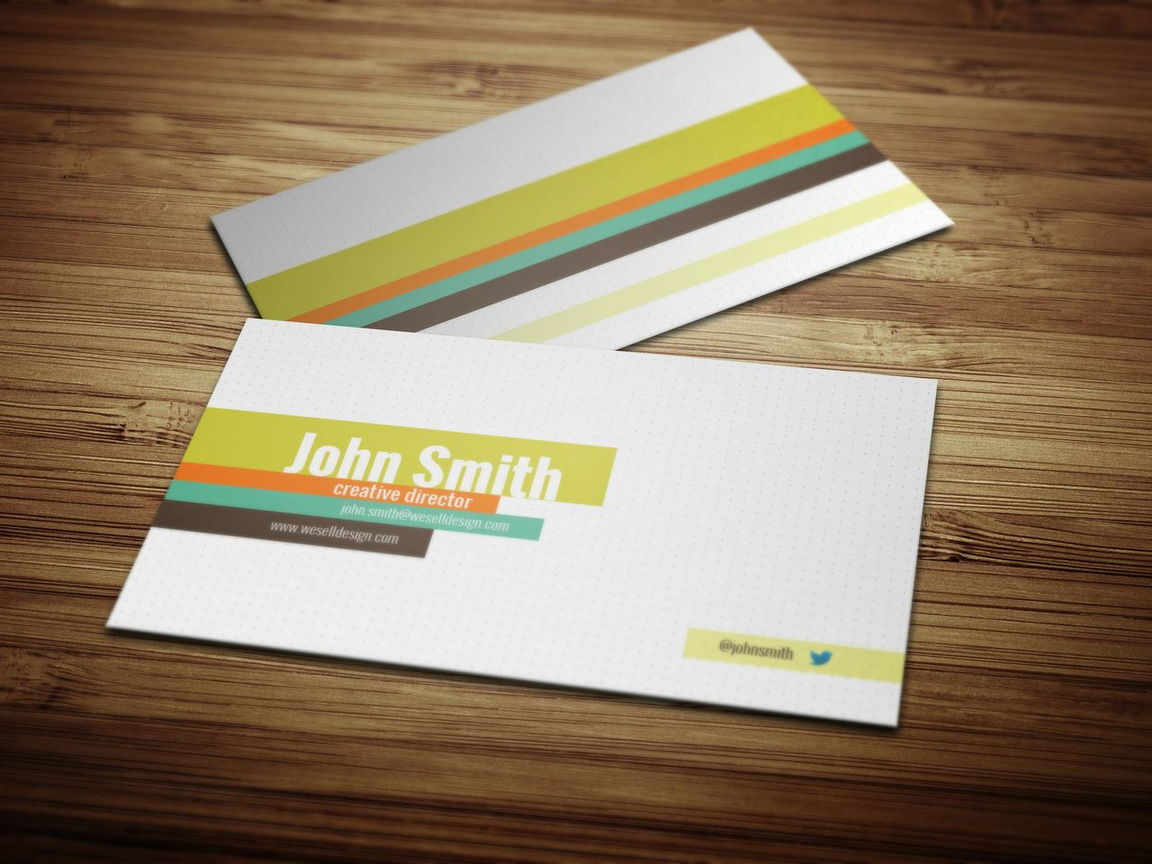 Dotted business card template crazyleaf sellfy dotted business card template magicingreecefo Choice Image