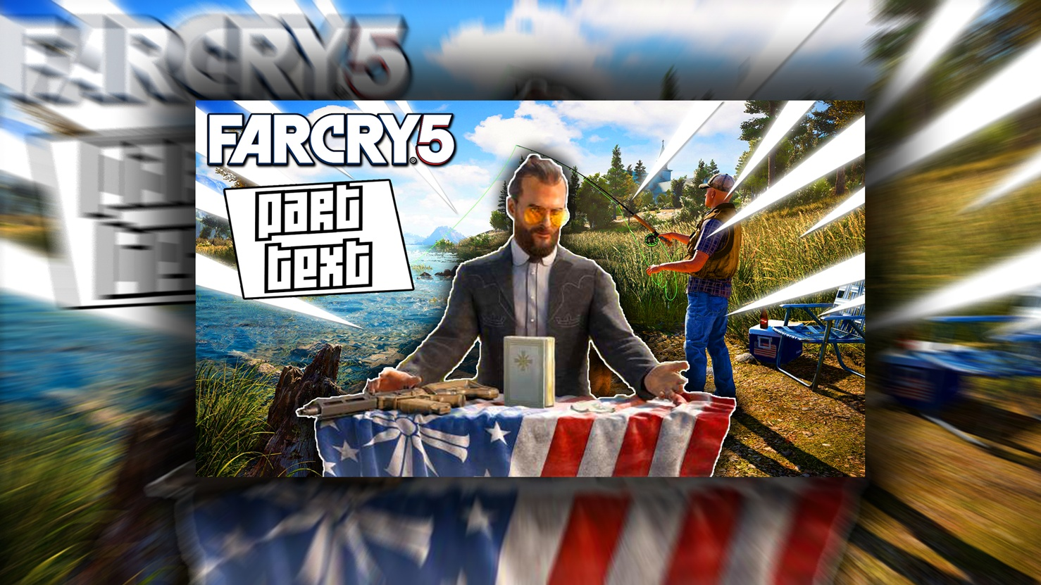 Far Cry 5 Thumbnail Template - PSD