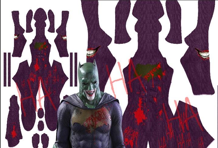 BATMAN Joker Ha ha ha