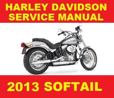►►► HARLEY DAVIDSON 2013 SOFTAIL MOTORCYCLE SERVICE WORKSHOP REPAIR MANUAL PDF DOWNLOAD