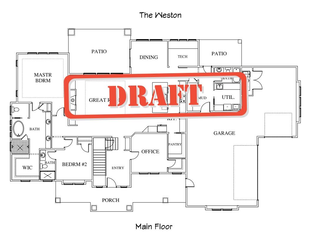 The Weston Plan - Layouts