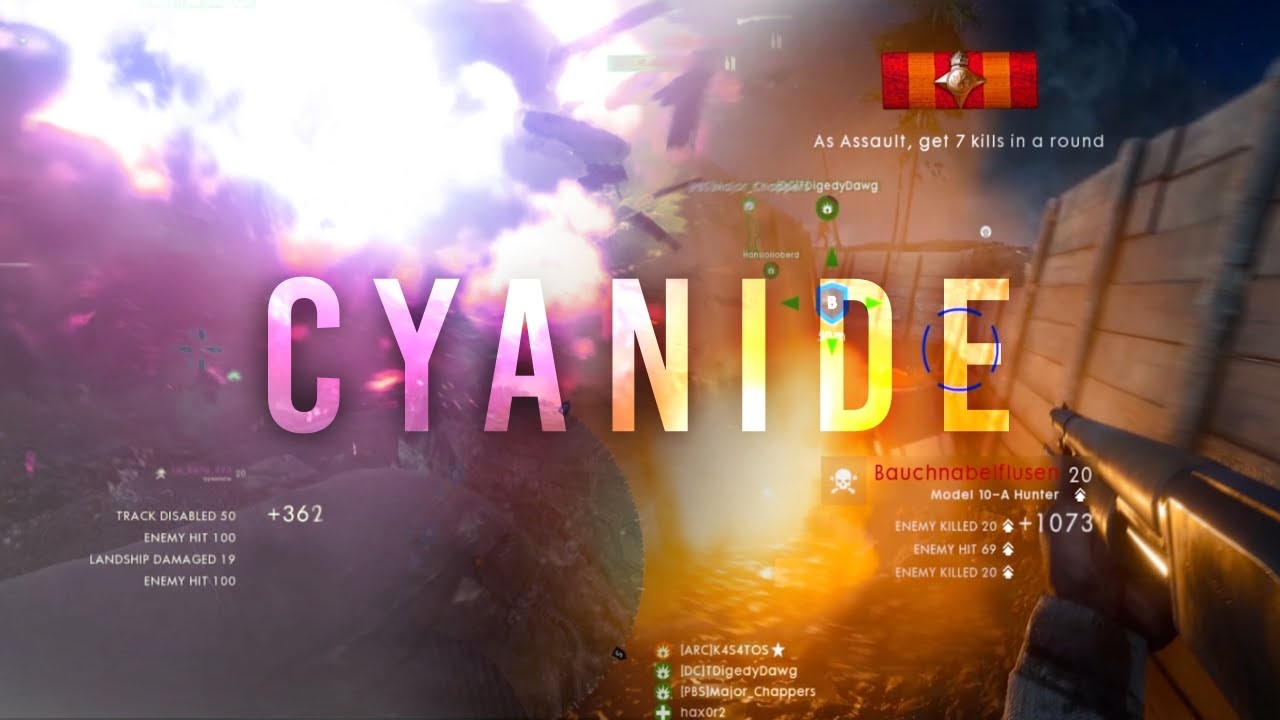CYANIDE Project File (Adobe After Effects CC 2017, Includes CC /)