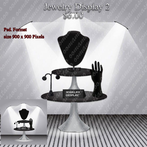 Jewelry Display Pack 2