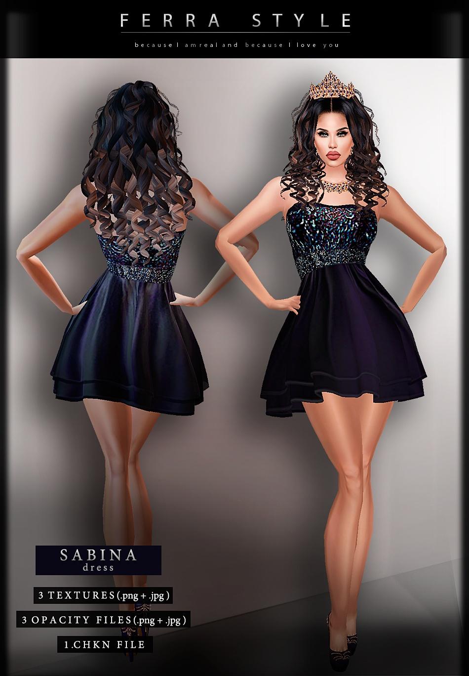 :: SABINA DRESS ::