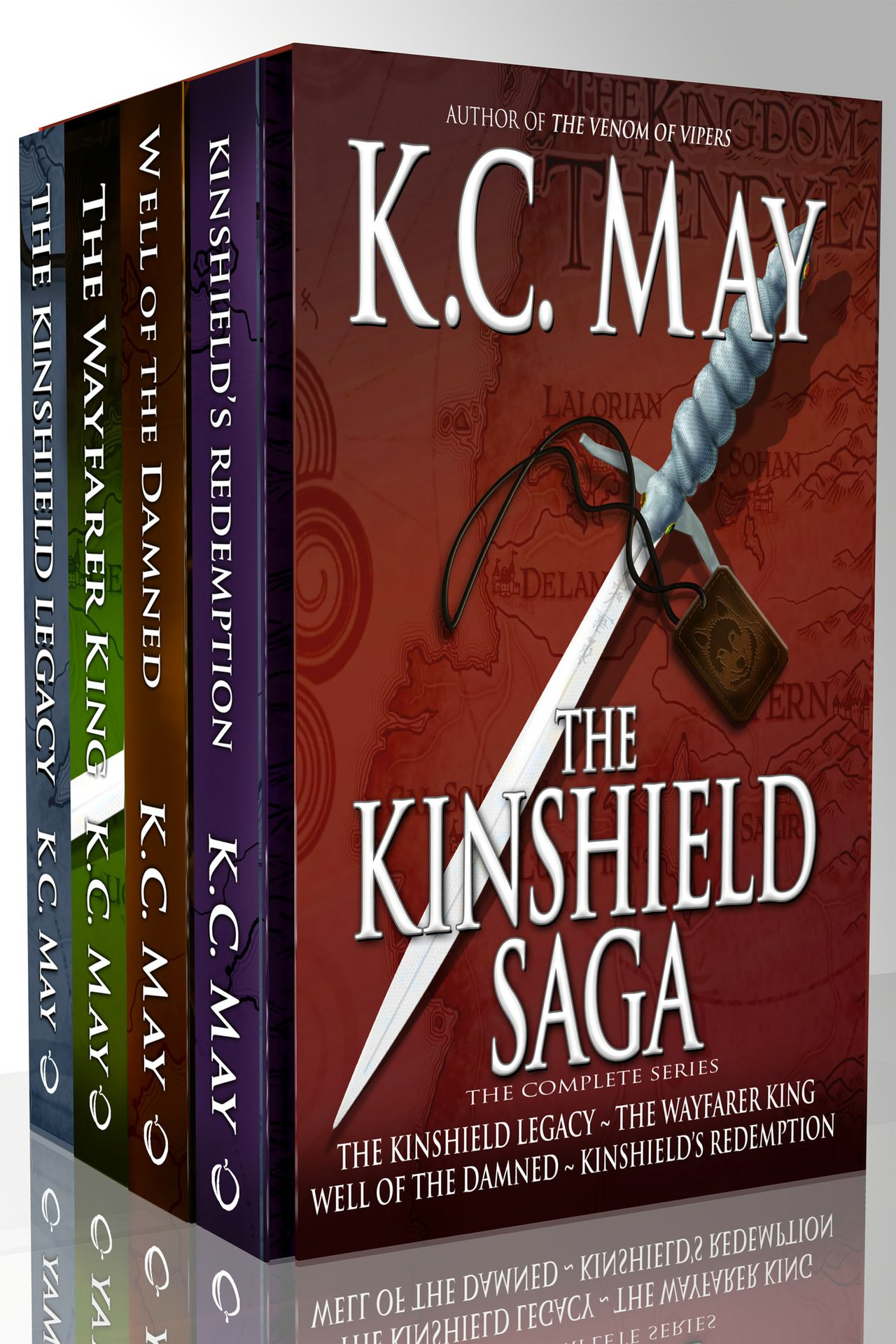 The Kinshield Saga (Kindle)