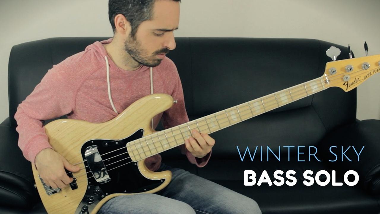 Bass Solo - Winter Sky - TAB