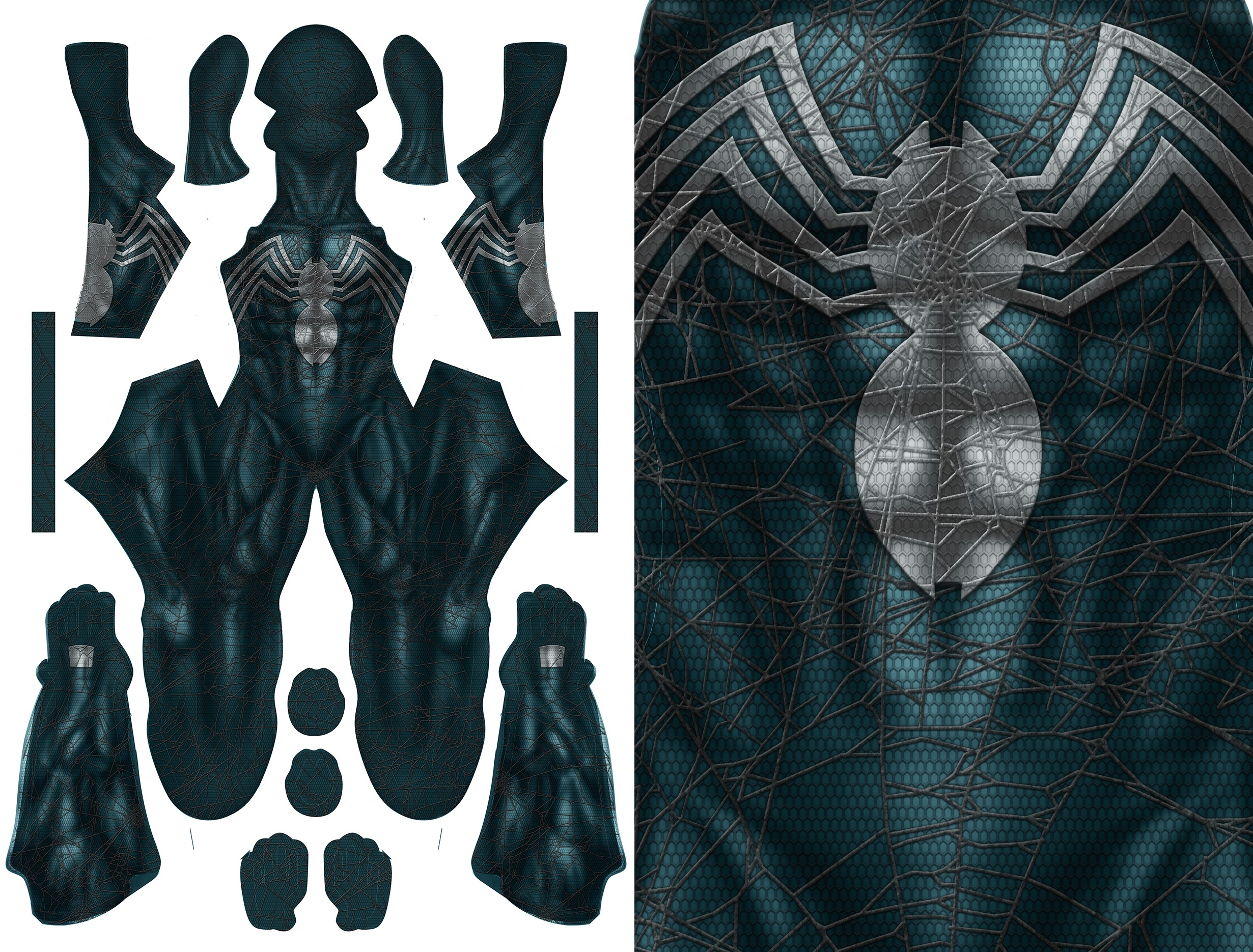 SPIDER-MAN SYMBIOTE CONCEPT pattern file