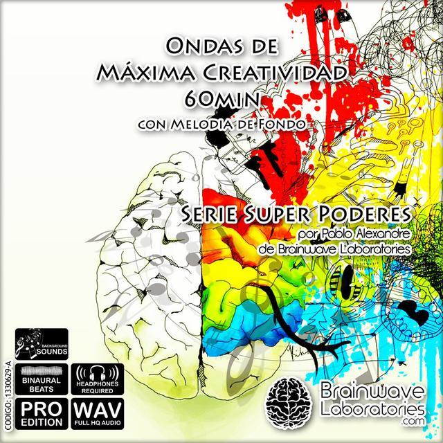 WAV - Ondas de máxima creatividad con melodía de fondo 60min