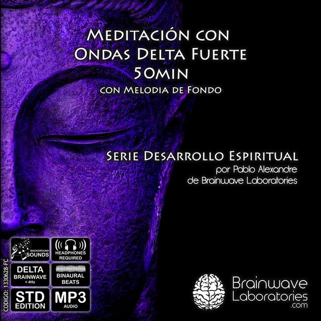 MP3 - Meditación Delta Fuerte con Melodía de Fondo 50min