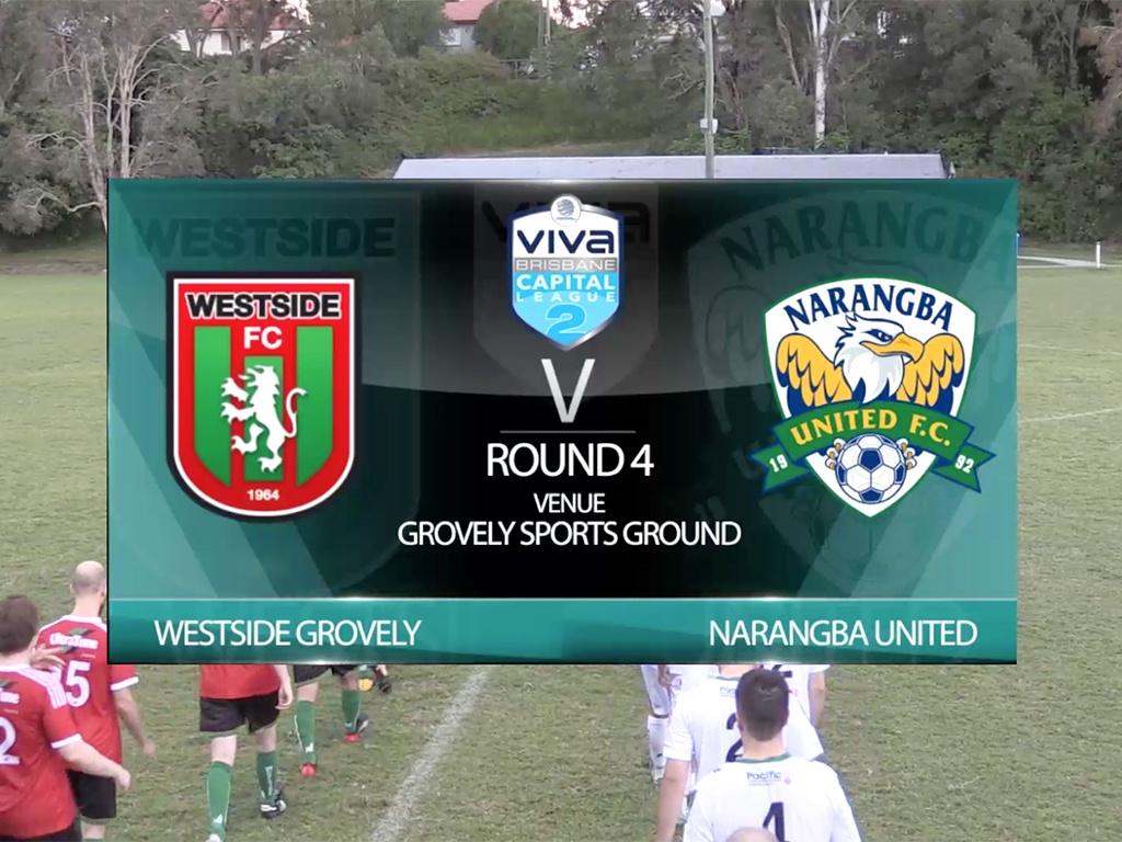 Vivia Capital League 2 RD4 Westside Grovely v Narangba Utd
