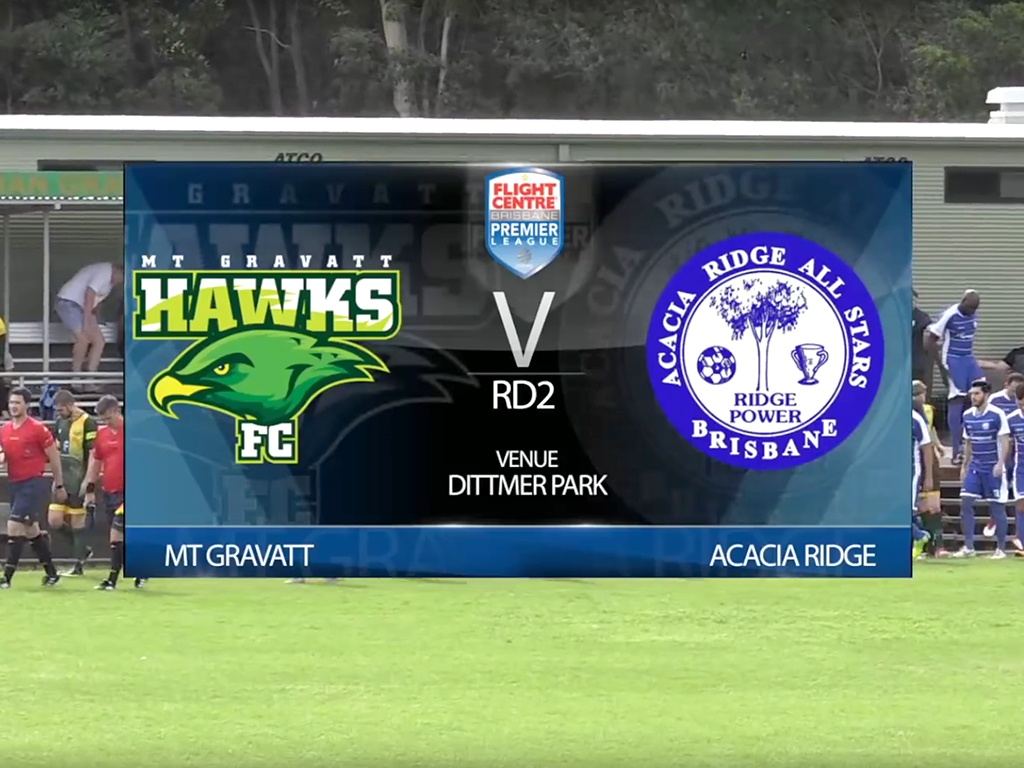 Flight Centre Brisbane Prem Lge RD2 Mt Gravatt v Acacia Ridge
