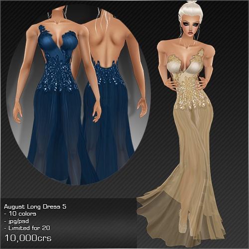 2013 Aug Long Dress # 5