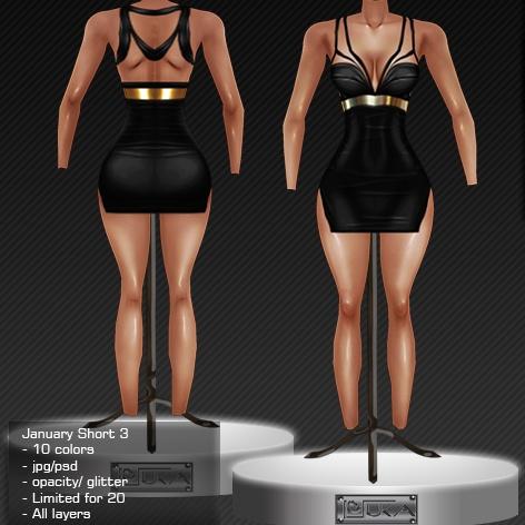 2014 Jan Short Dress # 3