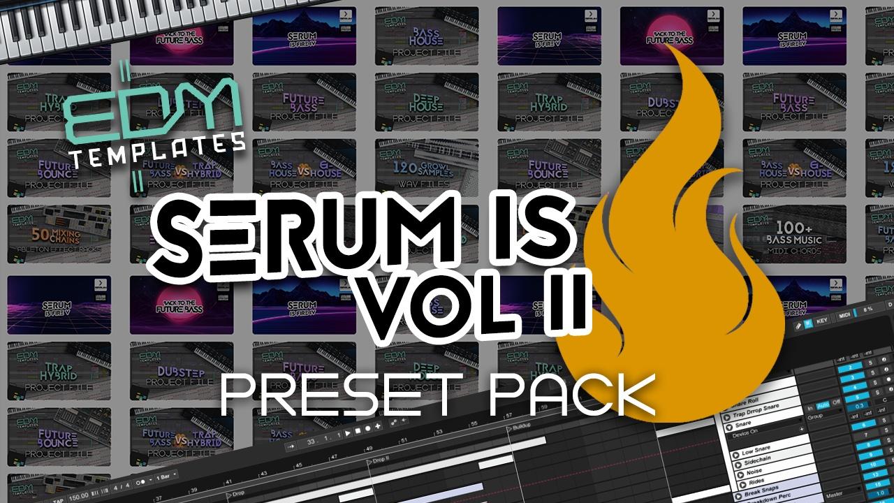 Serum Trap Hybrid & Dubstep Preset Pack Vol 2