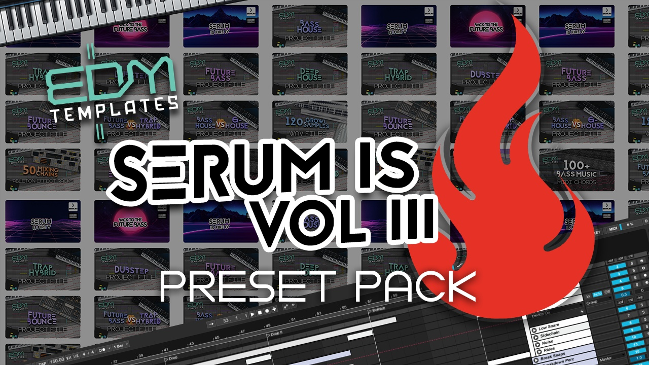 Serum Trap Hybrid & Dubstep Preset Pack Vol 3
