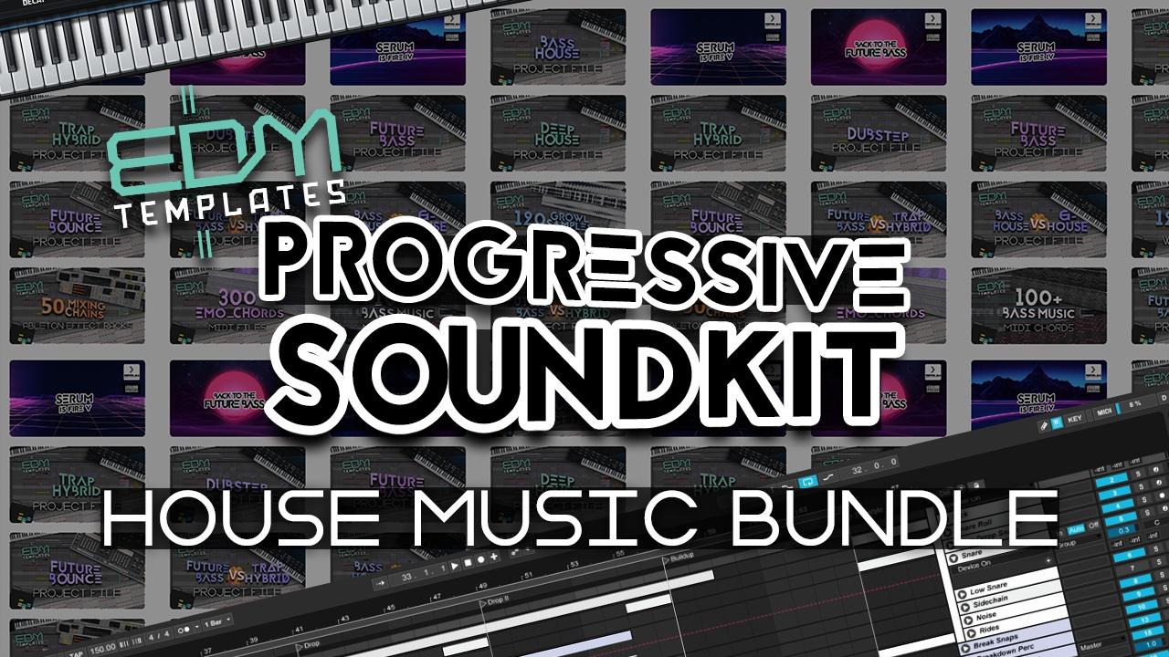 Progressive Soundkit - Sylenth1 Presets Templates Vst Racks Midi & Samples